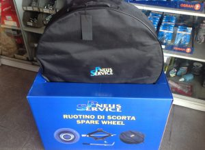 Kit pneu suplente - embalagem fechada